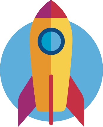 teaser graphic rocket